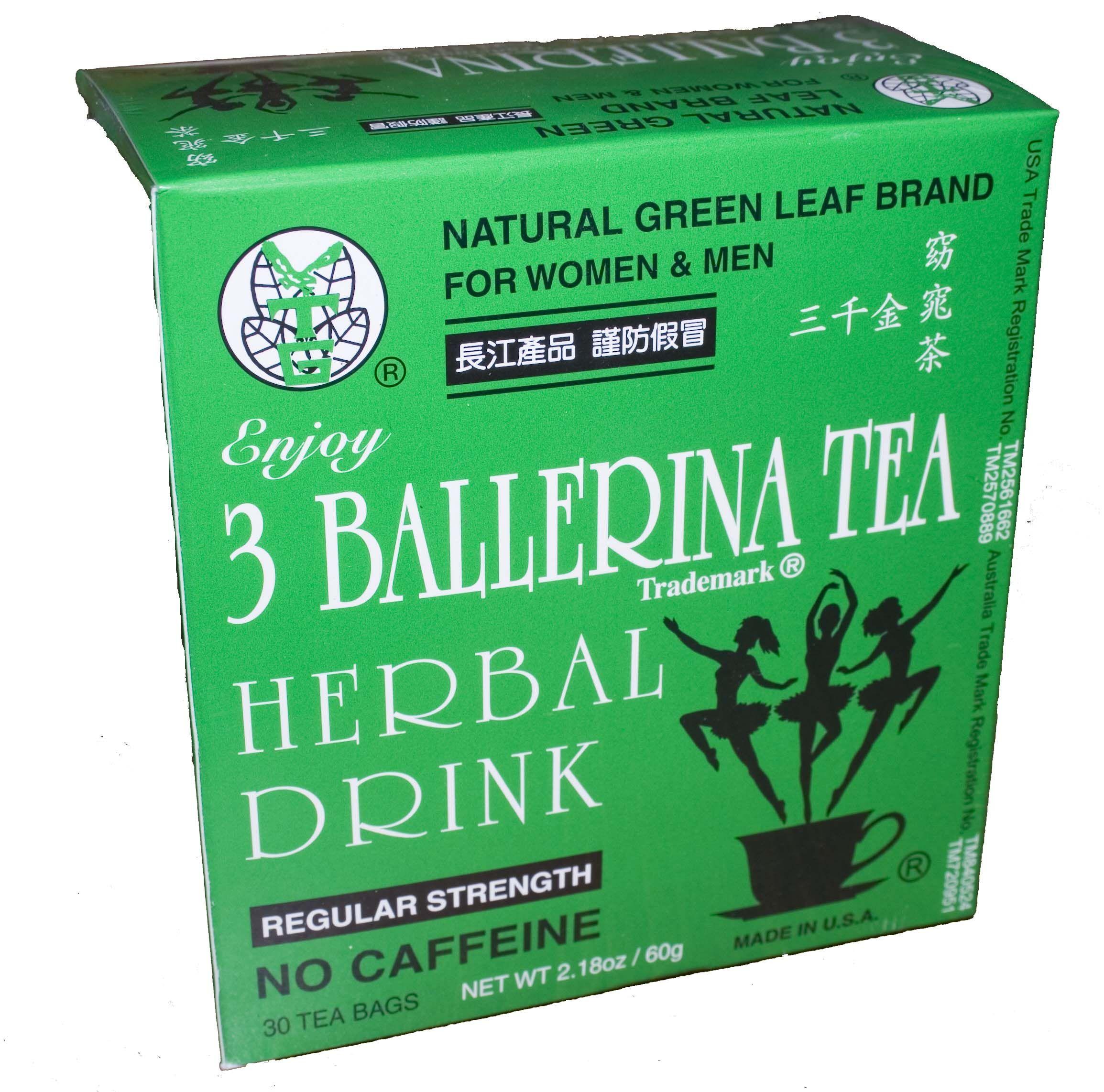 Ballerina Tea Herbal Drink Slim Chinese Green Drink Ballerina Herbal Tea Herbal Drinks Herbalism