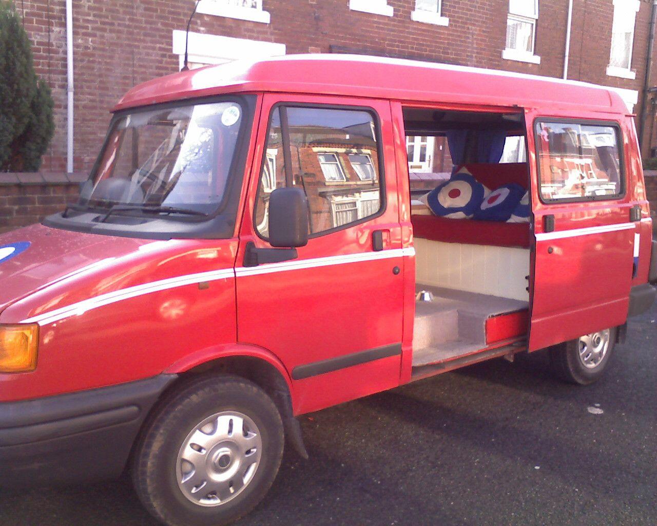 1996 LDV Pilot Minibus Which I Converted Into A Camper Van