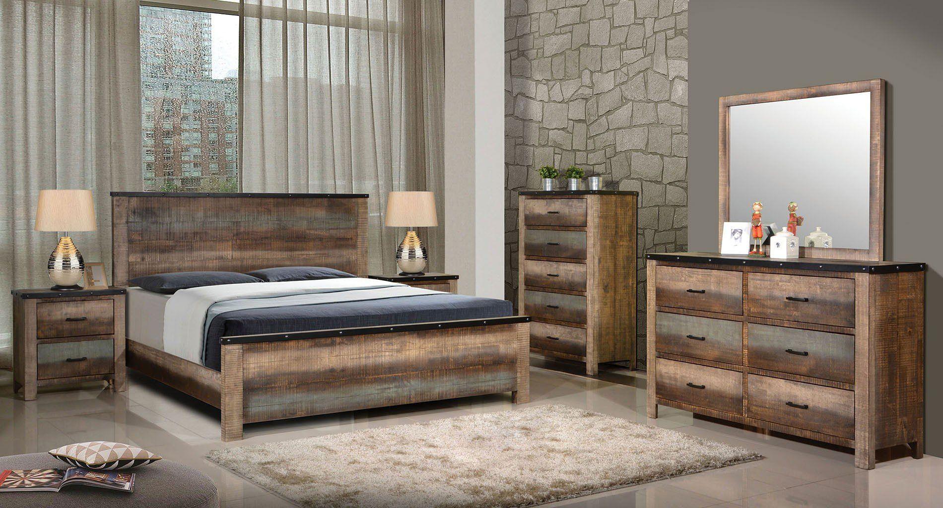 Sembene Panel Bedroom Set in 2020 Bedroom sets, King