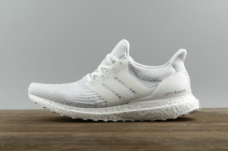achat Adidas Ultra Boost UB 3 0 All White blanc BA8841 Youth Big Boys  Sneakers c2935df812