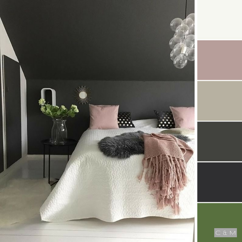 Pin By E Meghan Kraus On Color Inspiration Dusty Pink Bedroom Home Decor Room Colors