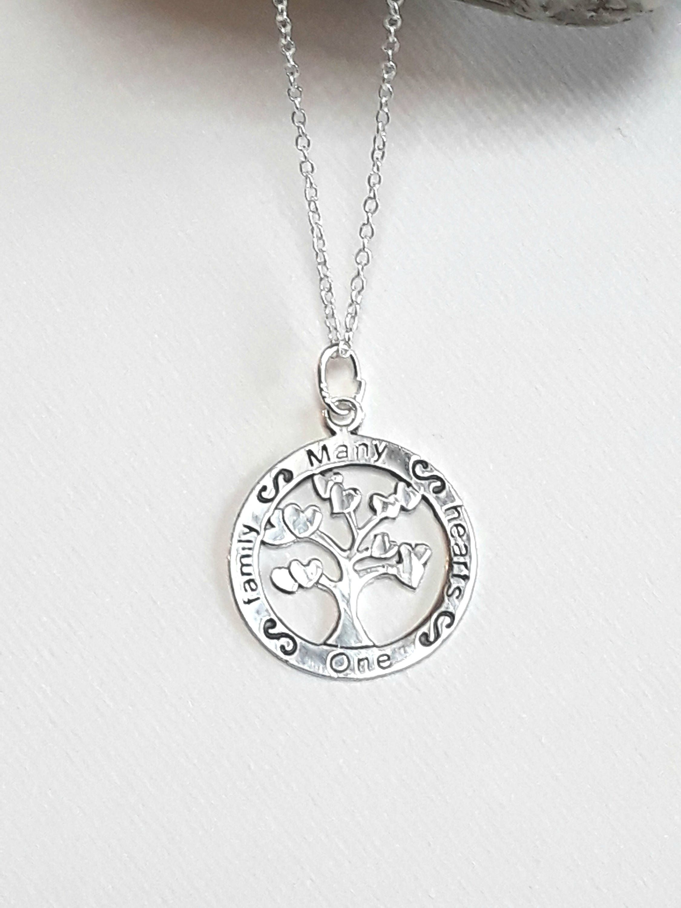 necklace silver amazon names with free dp engraving tree personalised pendant sterling co jewellery uk family