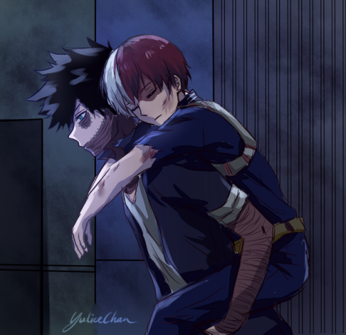 dabi and shouto | This is beautiful! Fantastic! Im crying