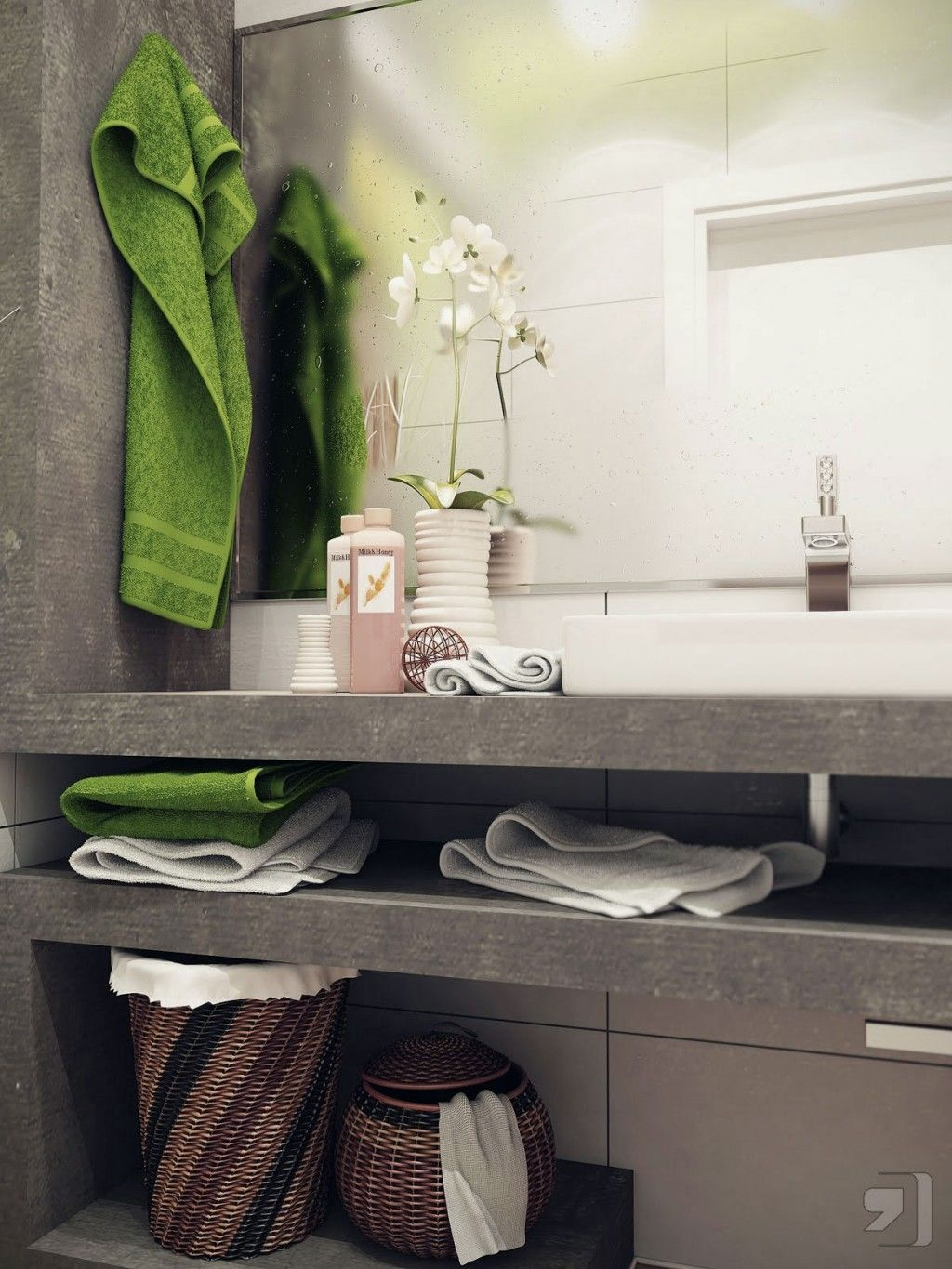 bright white small bathroom design ideas - Small Bathrooms Design Ideas