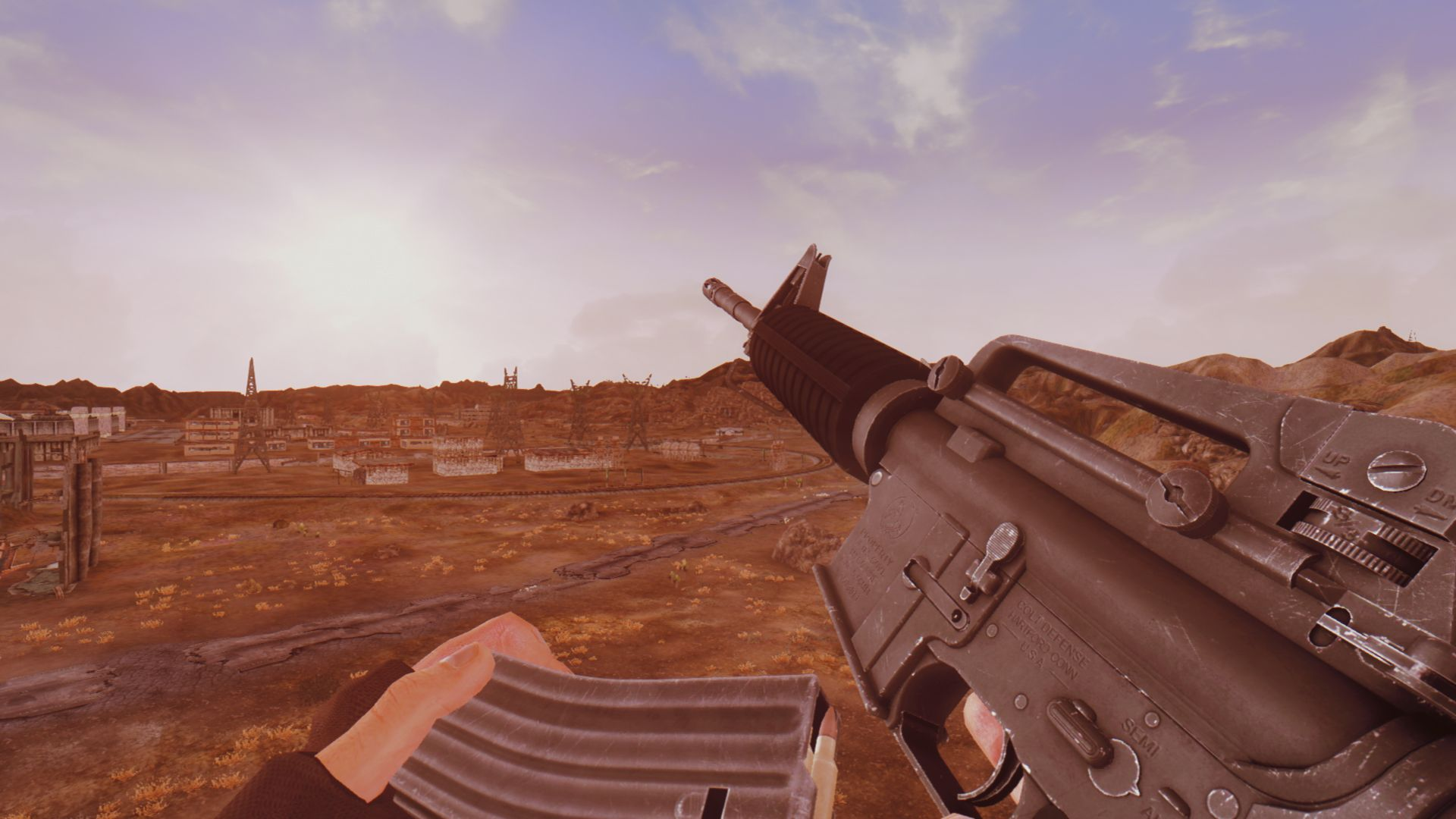 1st Person Weapon Animation Overhaul at Fallout New Vegas - mods and community
