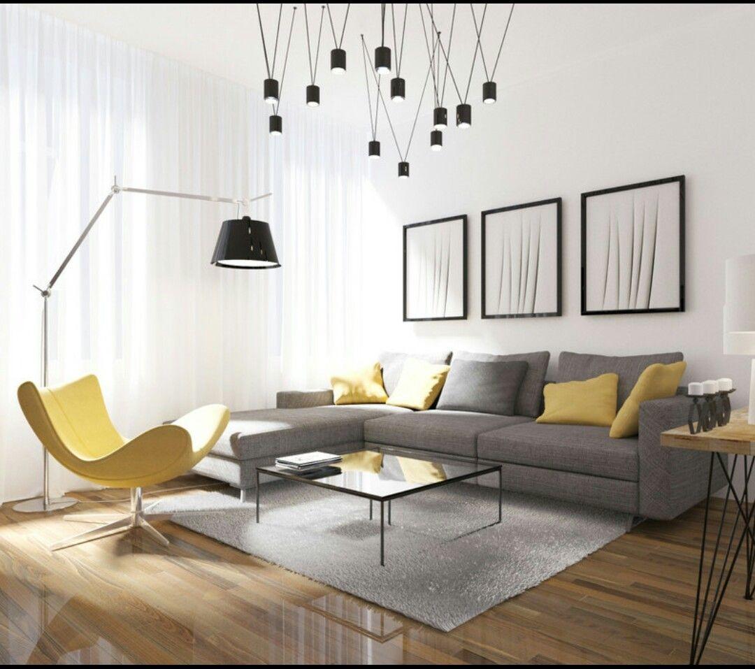 Living room ideas yellow