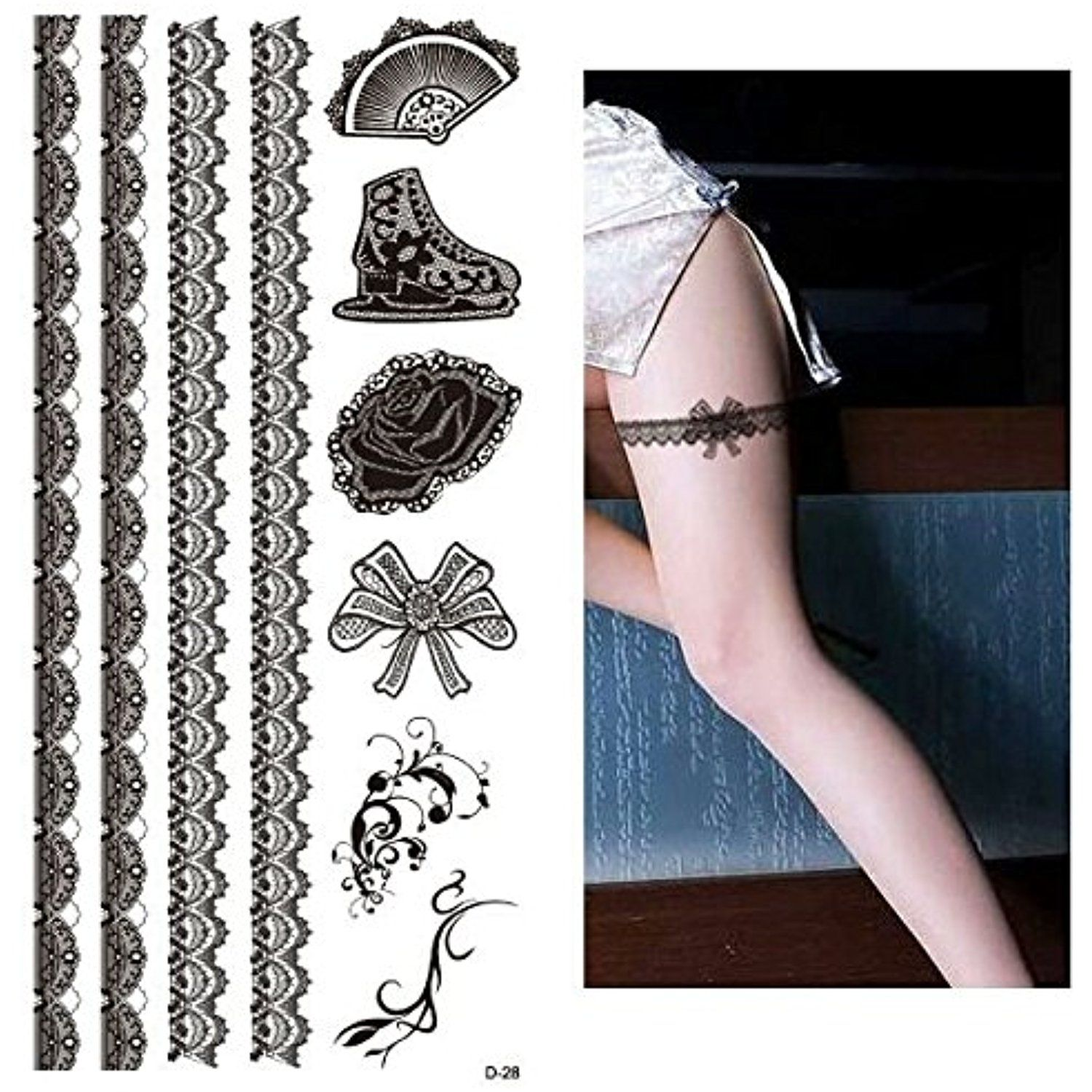 Pin En Temporary Tattoos