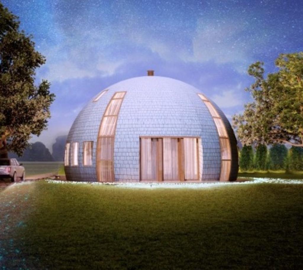 Dome Home Design Ideas: Découvrez L'étonnant Igloo... En Bois!