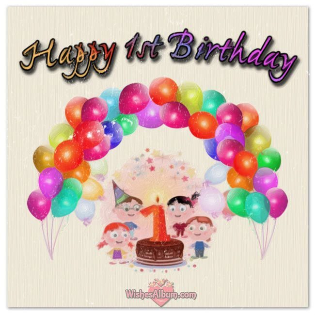 1st Birthday Quotes For A Girl: Happy 1st Birthday Wishes For Baby Girls And Boys