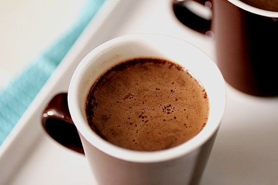Think And Rich Homemade Hot Cocoa Is It Cold Outside Yet Homemade Hot Cocoa Hot Chocolate Recipes Chocolate Recipes Homemade