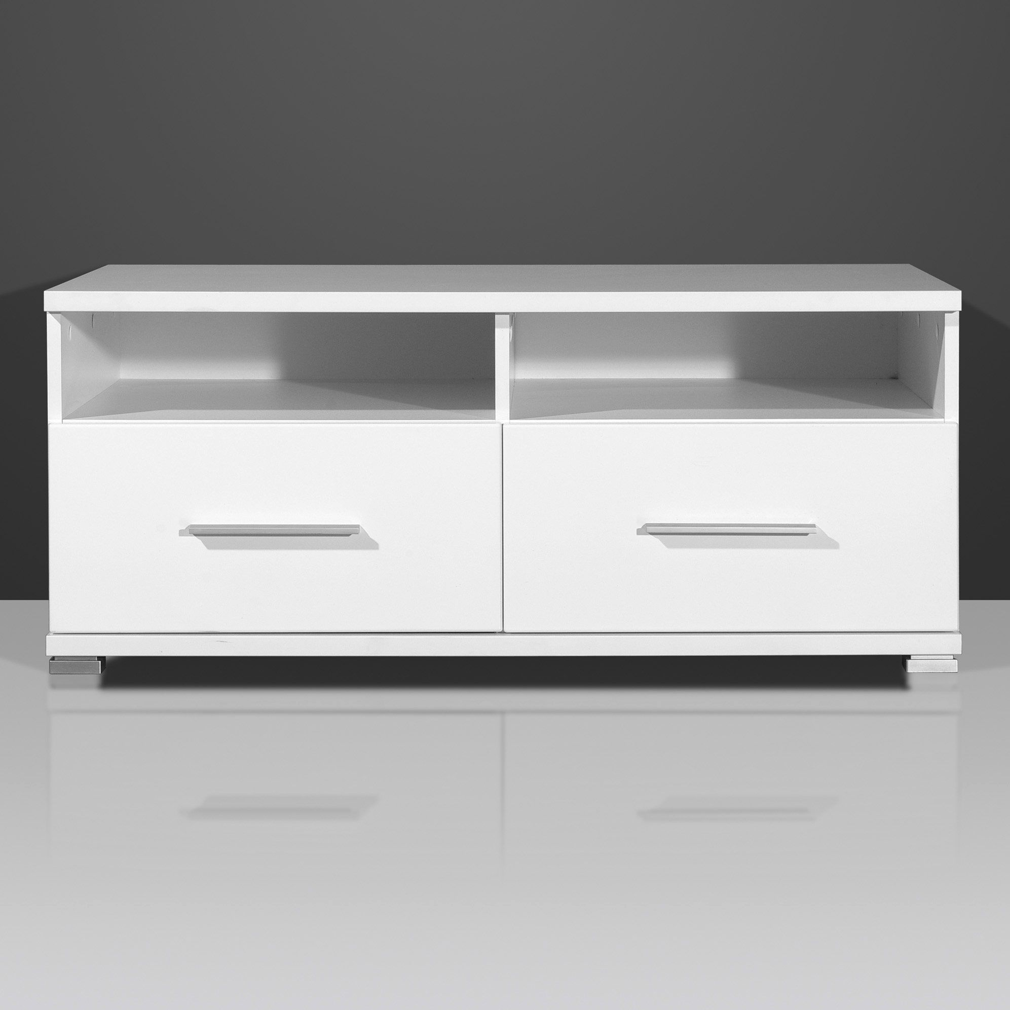 Beau Meuble Tv 90 Cm Largeur White Gloss Furniture Plasma Tv Stands Tv Stand