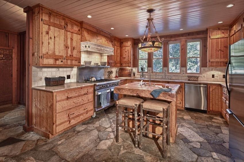 Ahwahnee inspired design lake tahoe cabin rentals lake