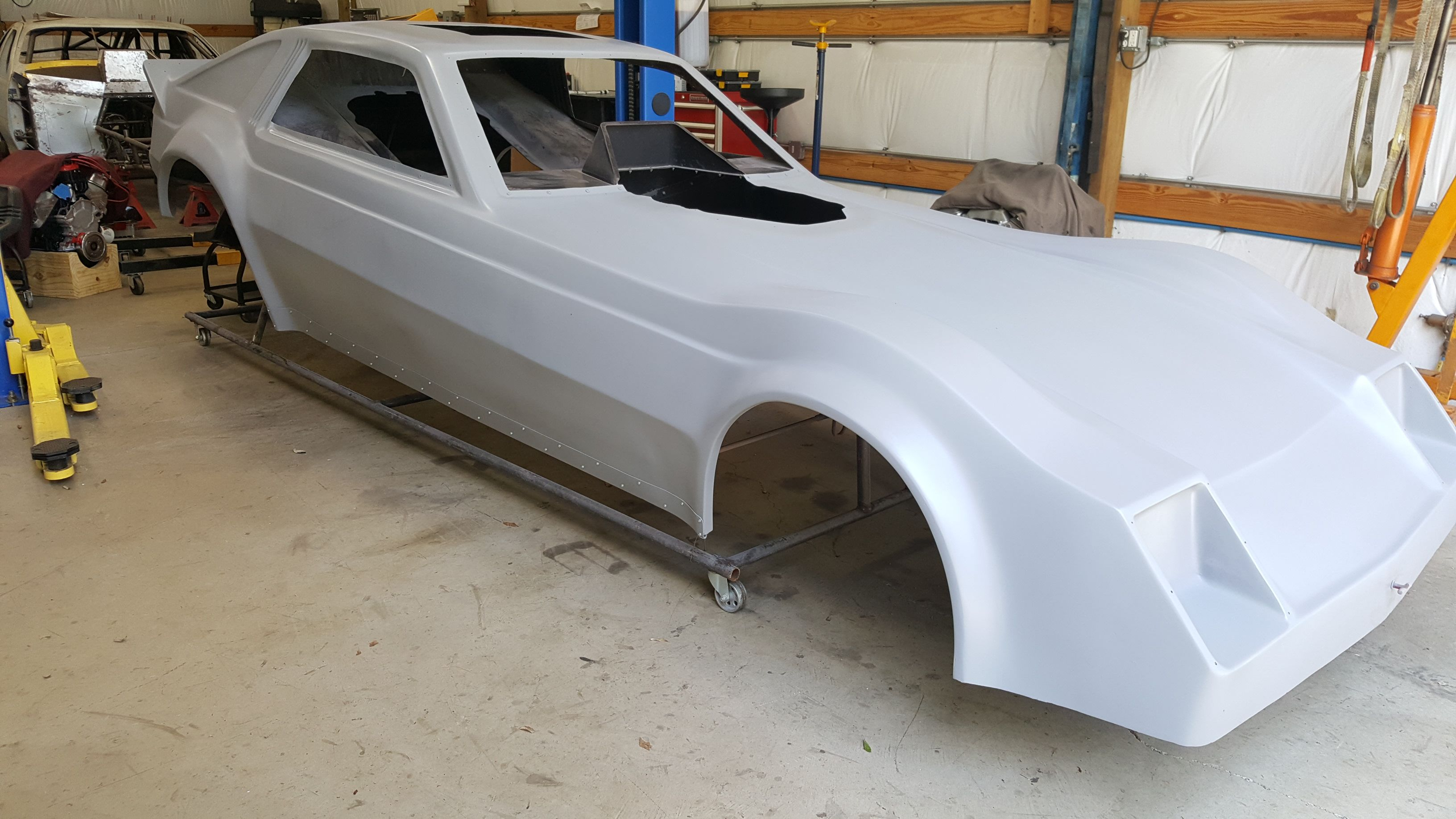 Nostalgia Funny Car Project Car Humor Chassis Fabrication Race Car Chassis
