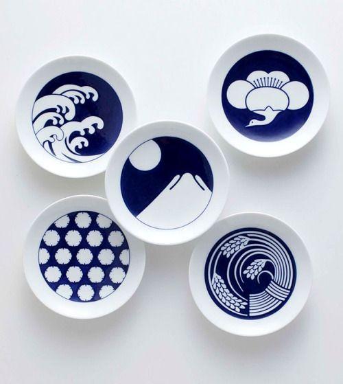 assiettes d 39 inspiration japonaise univers mininga ceramics japaneseceramics graphic. Black Bedroom Furniture Sets. Home Design Ideas