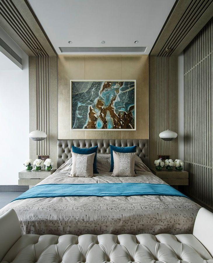 one shenzhen bay kelly hoppen dormitorio paredes de