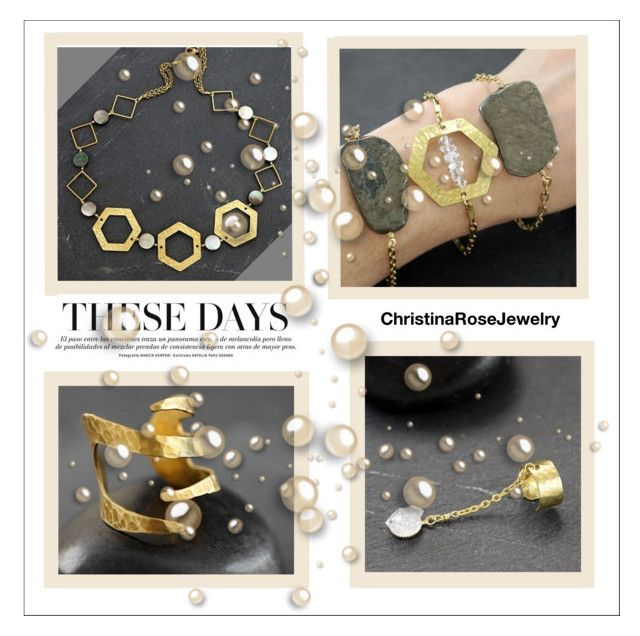 """""""ChristinaRoseJewelry 7/30"""" by semic-merisa ❤ liked on Polyvore featuring ChristinaRoseJewelry"""