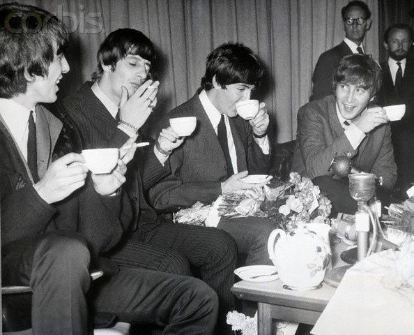 Black and White Coffee Drinkers | Beatles