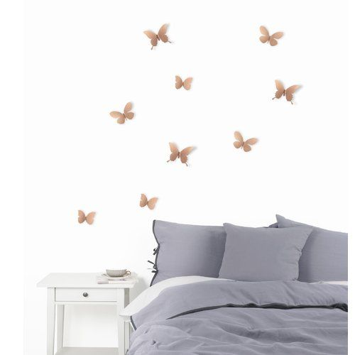 Umbra Mariposa Metal Wall Decor Butterfly Wall Decor Copper