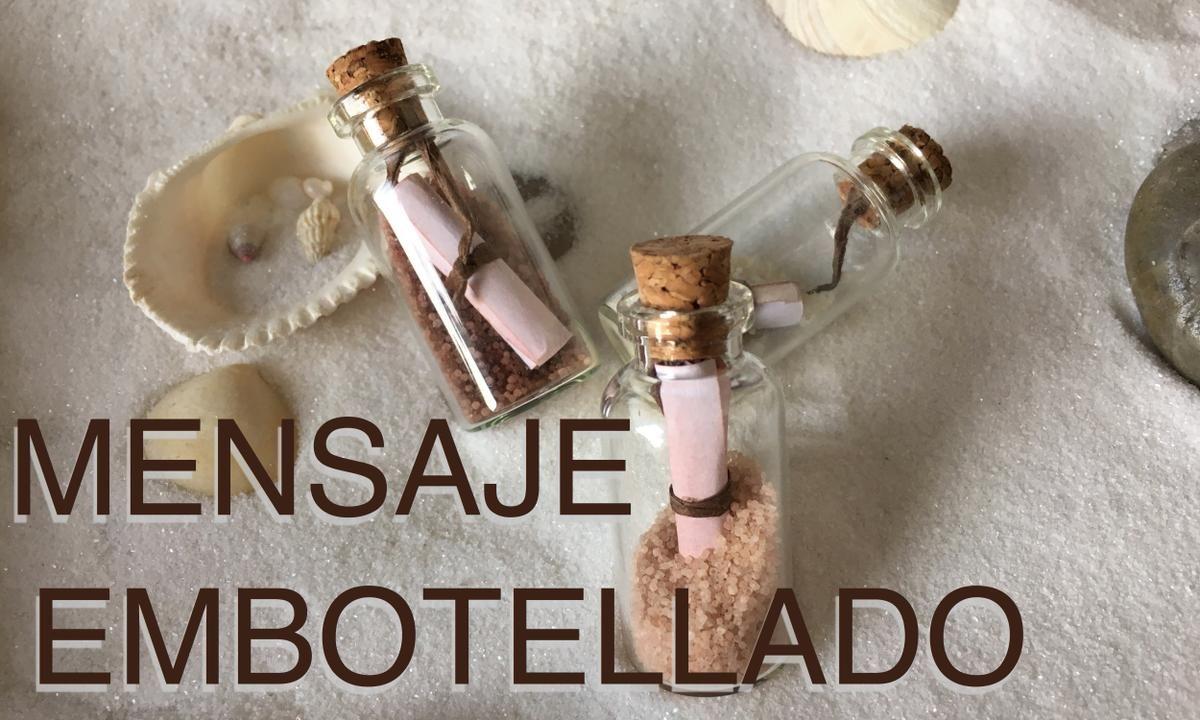message ..in a bottle.