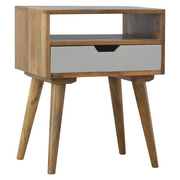 Anaheim Designed 1 Drawer Bedside Table Furniture Modern Bedside Table Painted Drawers
