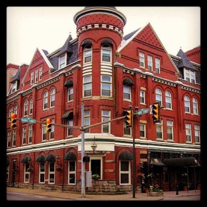 The Blennerhett Hotel In Parkersburg Wv