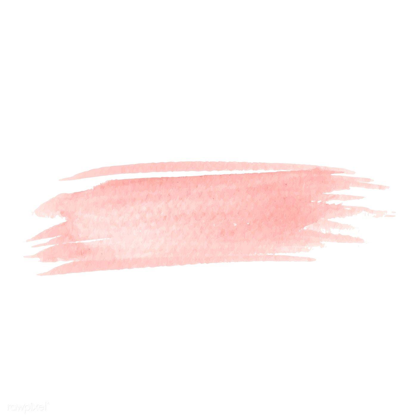 Download Premium Vector Of Pastel Peach Watercolor Background Vector 540734 Brush Background Watercolor Background Pastel Background