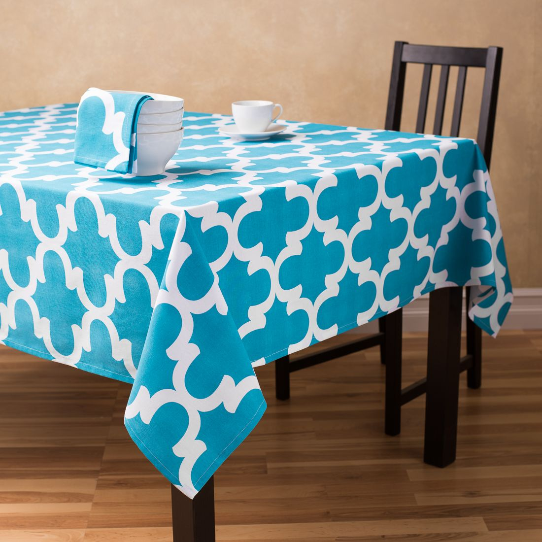 Nice Buy Rectangular Trellis Pattern Tablecloths At Linentablecloth. Add A Chic  Modern Touch To Your Dining Space With A Premium Cotton Turquoise Tablecloth .