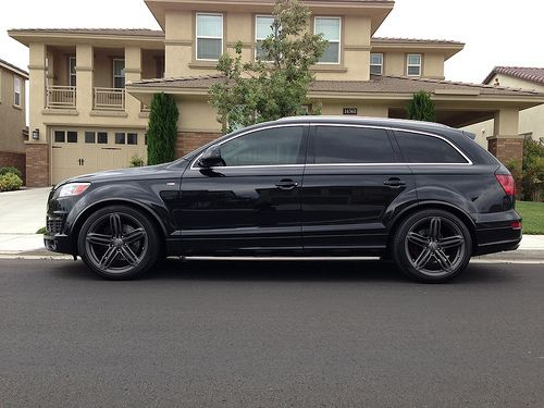 08 Q7 S Line With Some Mods With Images Audi Audi Q7