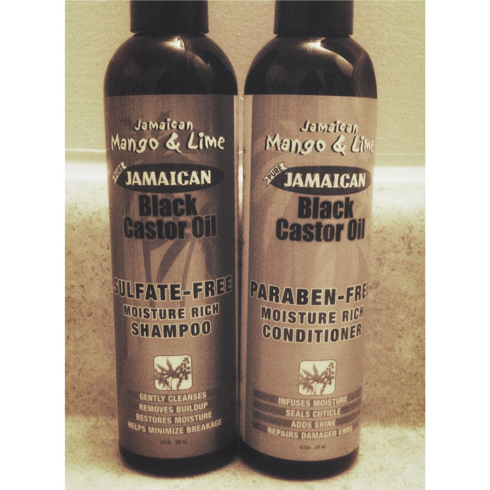 My shampoo and conditioner i will be using on my hair as i proceed