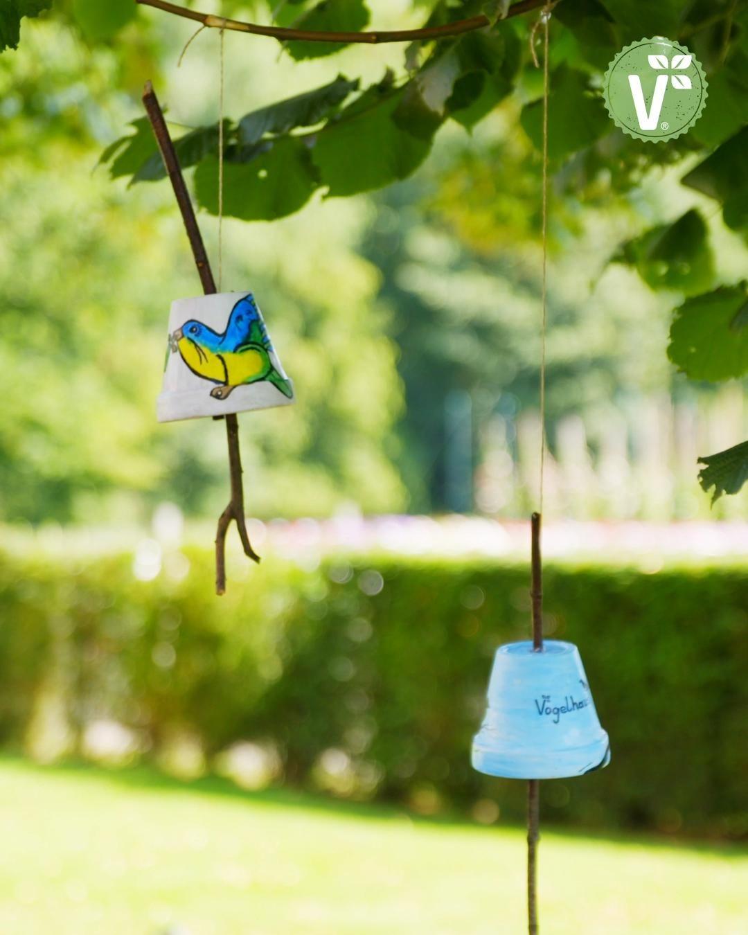 DIY-Idee Futterspender: Vogelfutter im Blumentopf selber machen – Volmary QuickTipps
