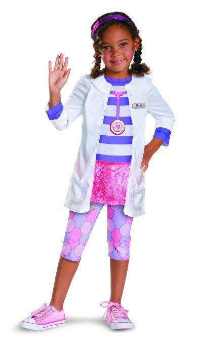 Doc McStuffins Child Costume Toys  Games Halloween - trajes de halloween para bebes