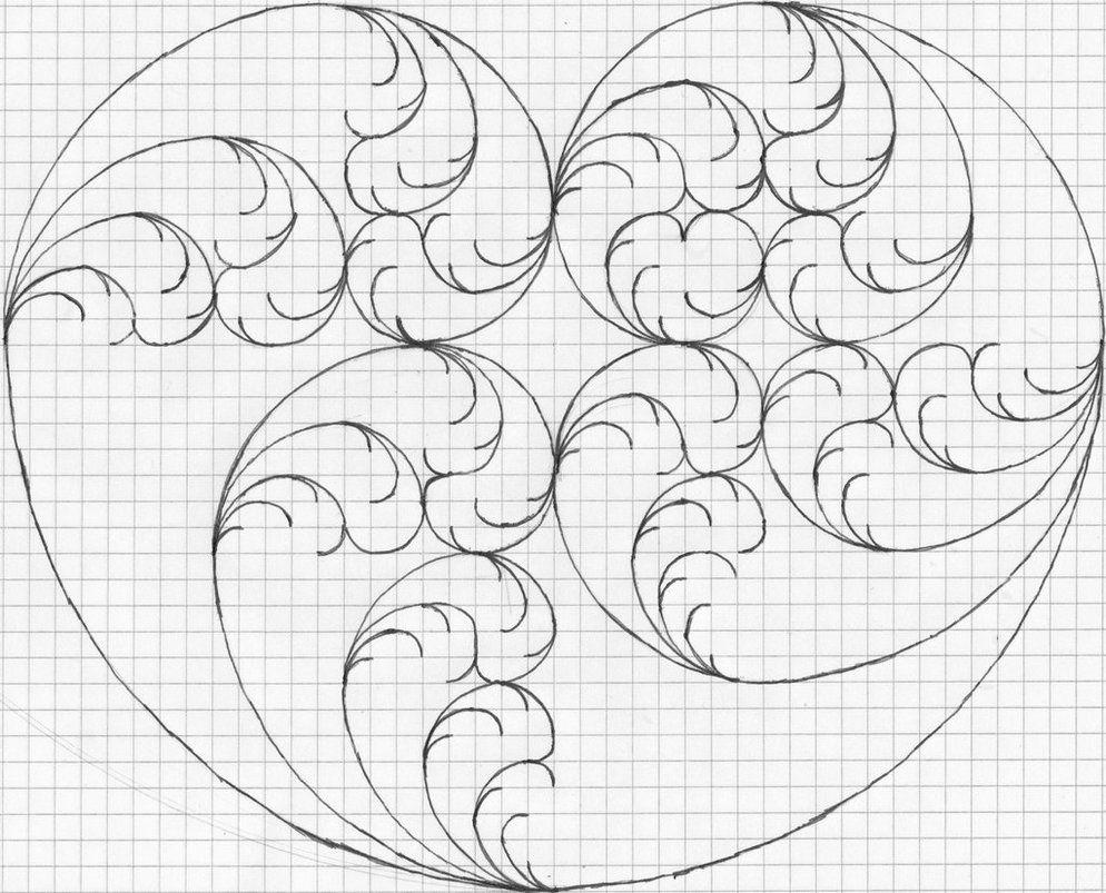 Fibonacci Spiral Fractal
