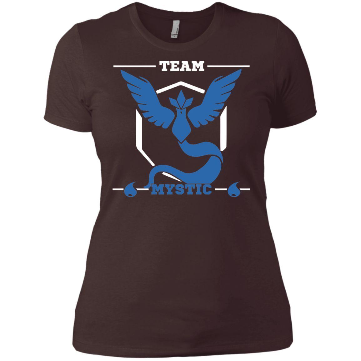 Team mystic2-01 Next Level Ladies' Boyfriend Tee