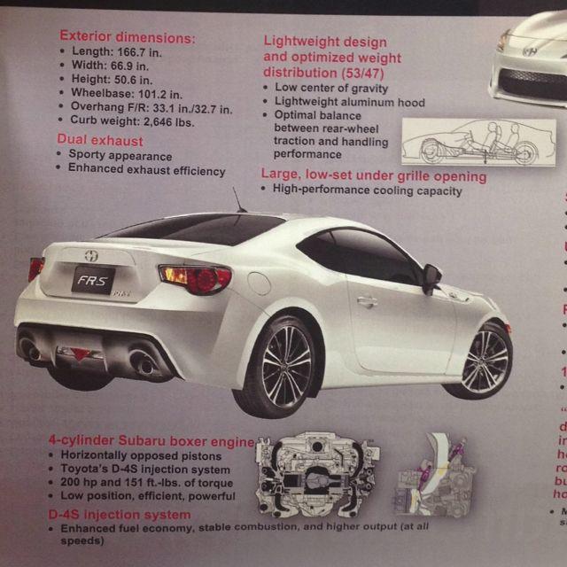 Scion Fr S Car Facts Dream Cars Scion