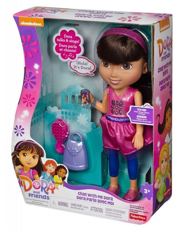 Fisher Price Dora The Explorer Doll Dora Talking Greek