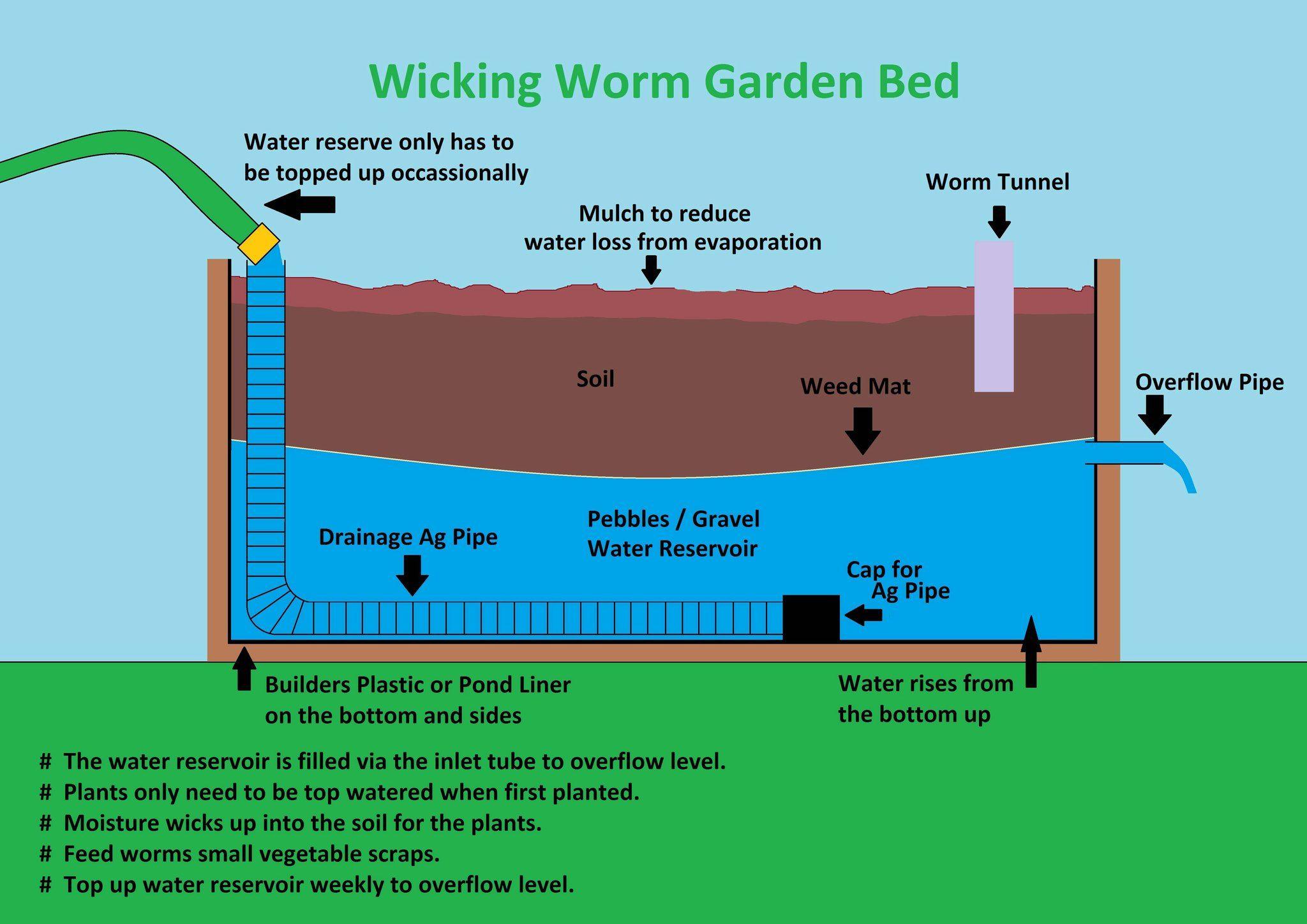 Worm Farm Aquaponics Wicking Beds Garden Beds