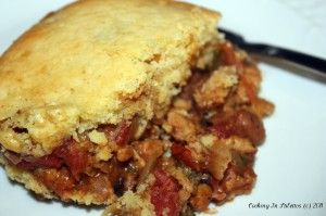 This is one of my fave Ingrid Hoffmann recipes - Chipotle Tamale Pie    http://cookinginstilettos.com/tried-and-true-chipotle-tamale-pie/