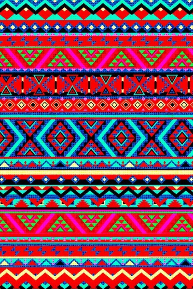 Aztec Style Iphone Ipod Case By Diego Tirigall Tribal Wallpaper Tribal Pattern Wallpaper Aztec Wallpaper