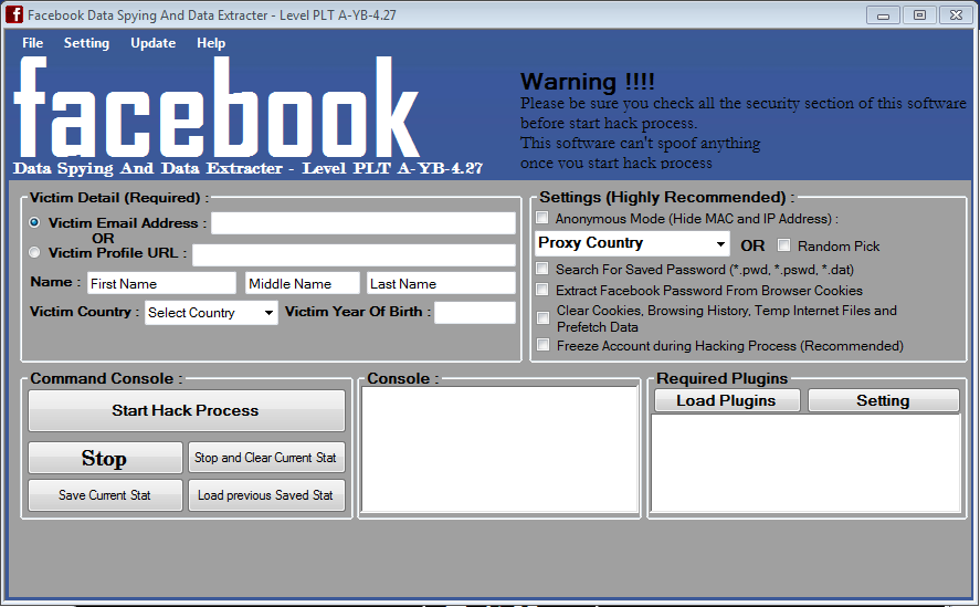 Download Facebook Database Hack