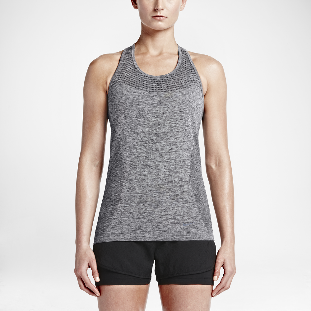 cd4c20cc728b Nike Dri-FIT Knit Women s Running Tank Top Size Medium (Black) - Clearance  Sale