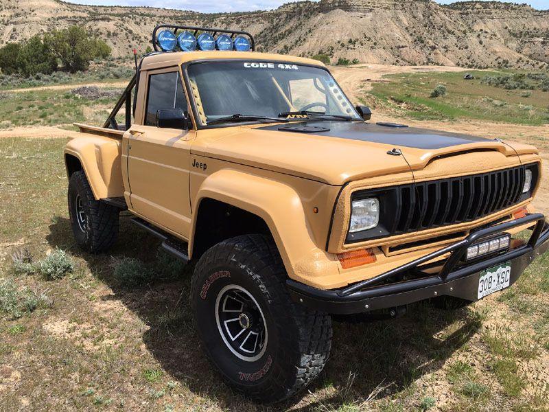 83 J 10 Step Side Pre Runner International Full Size Jeep