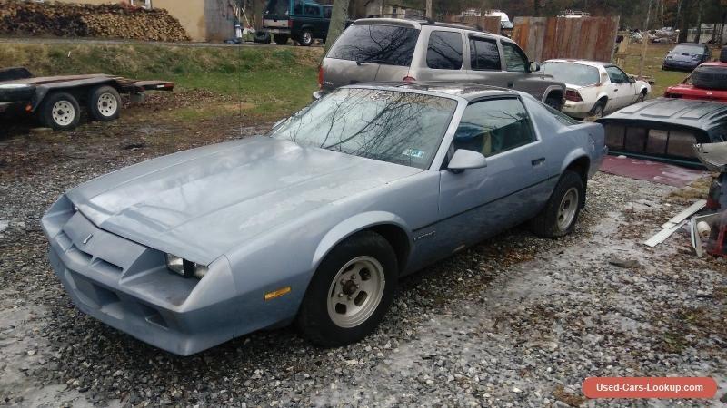 1984 Chevrolet Camaro Sport Coupe 2-Door #chevrolet #camaro #forsale #unitedstates