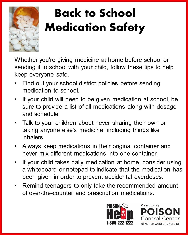 Medication Safety Tips For Kids Who Take Daily Meds