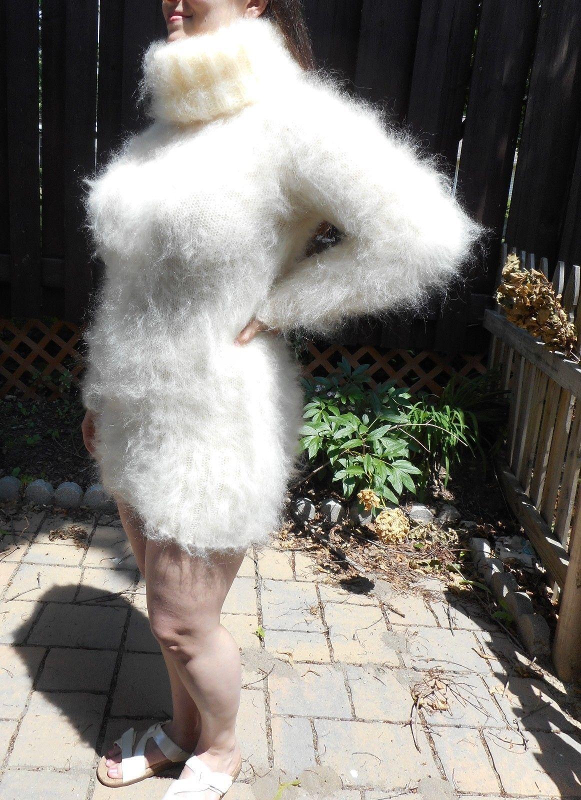 fuzzy wool fetish