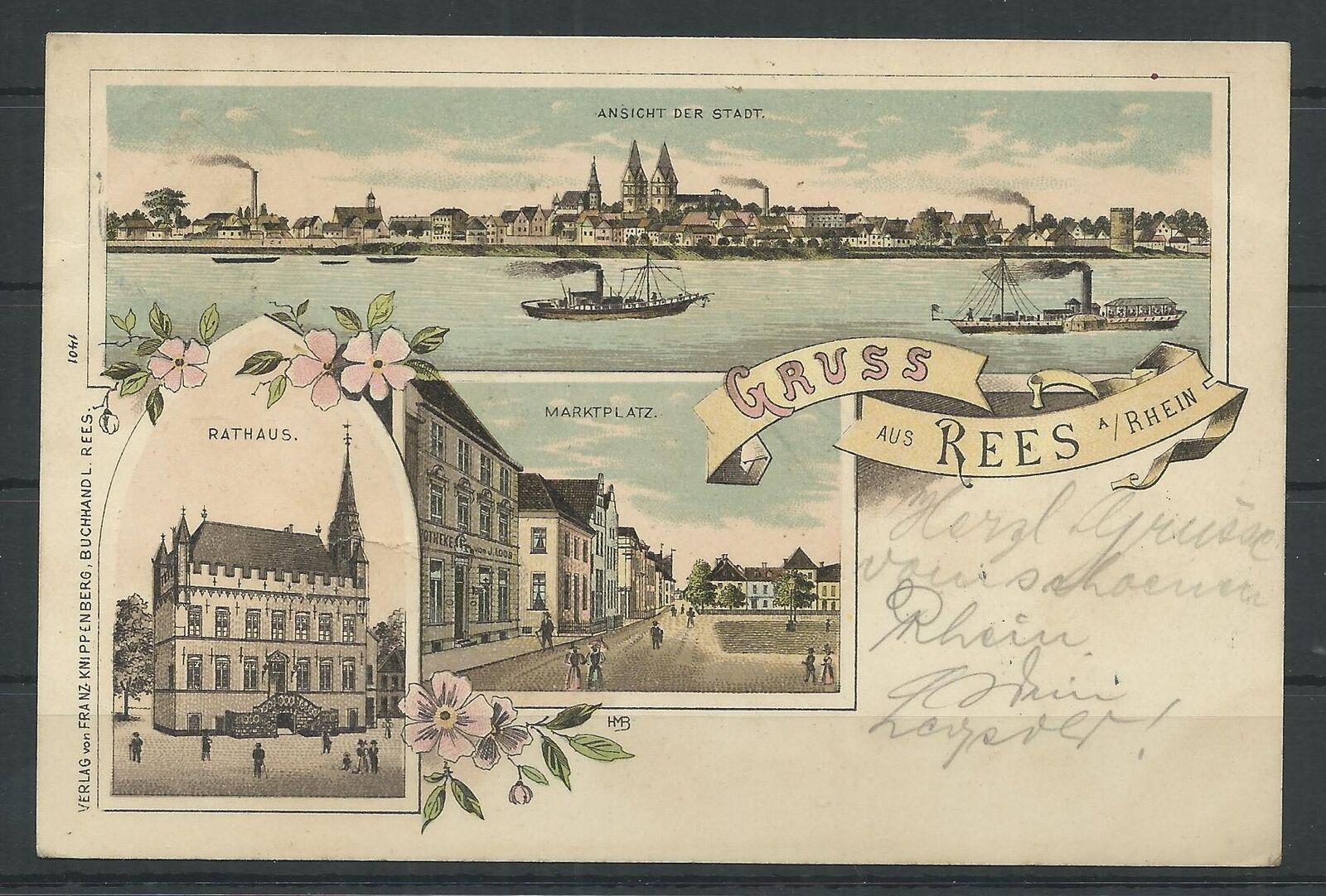 Pin auf Stadt Rees 19001985