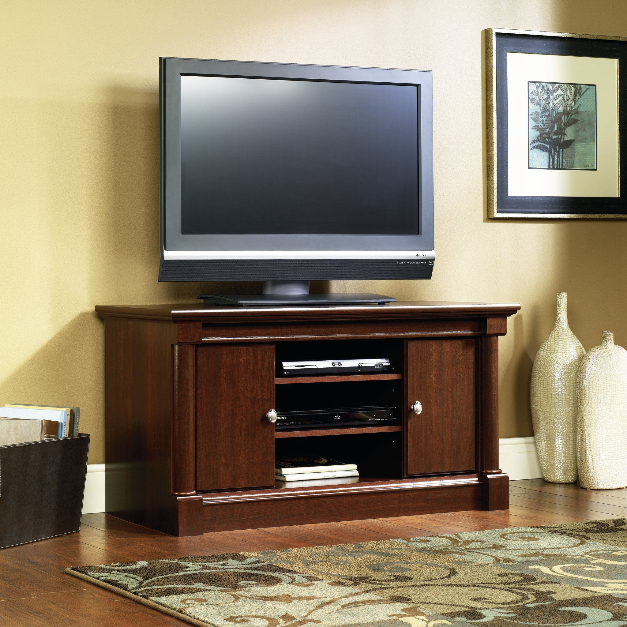 Cherry Panel Tv Stand Palladia Tv Stand Furniture Wood Tv Console Tv Stand And Entertainment Center