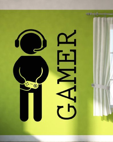 Wall Stickers Vinyl Decal Video Games Joystick Gamer Decor For Play Room  (z2065i) Wallsticker4you Part 92