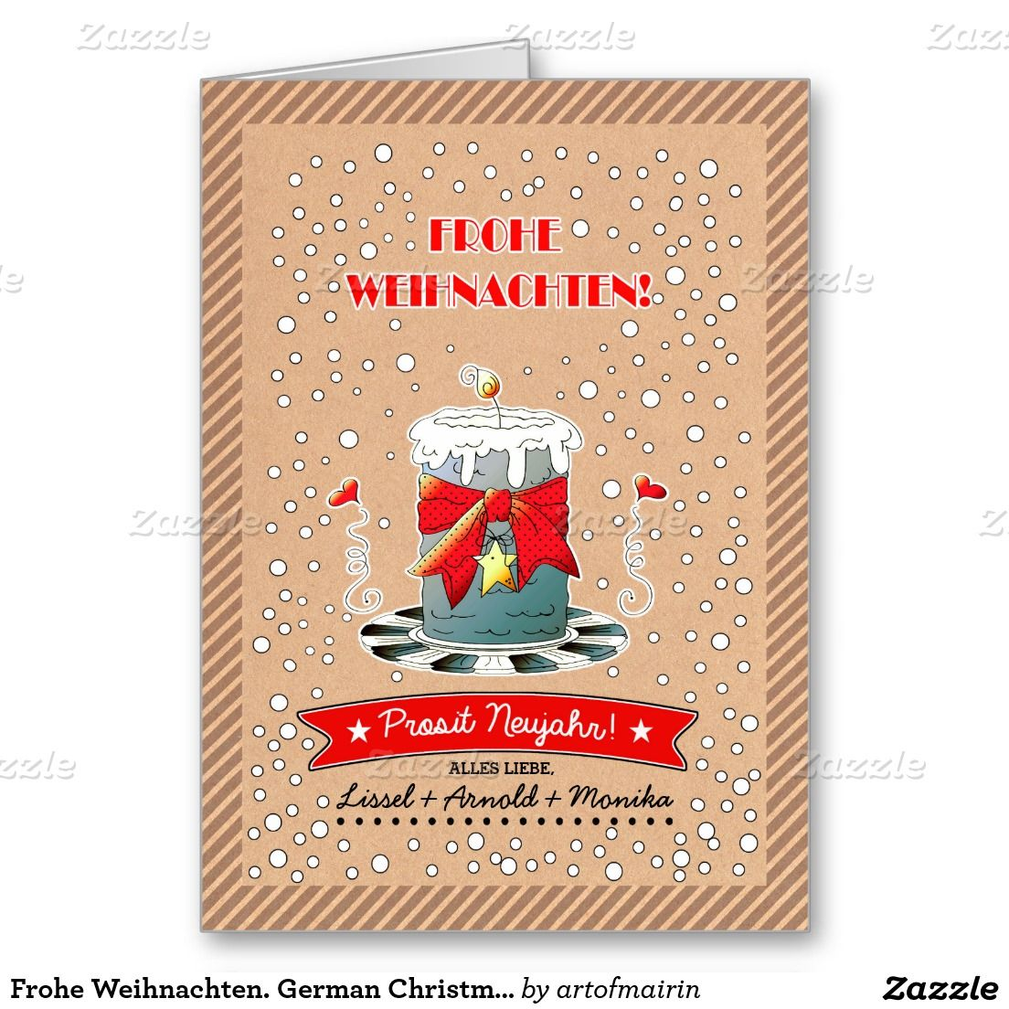 Frohe Weihnachten German Christmas Cards Christmas Holiday