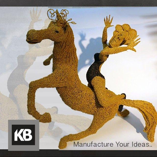 Something we liked from Instagram! الحصان والراقصة.. مثال آخر عن الإبداع باستخدام 3Doodler  #3DPrinting #3DPrinter #3Doodler #Ultimaker #3DSystems #Makerbot #KBProto #WhatWillYouCreate by kbproto_sa check us out: http://bit.ly/1KyLetq