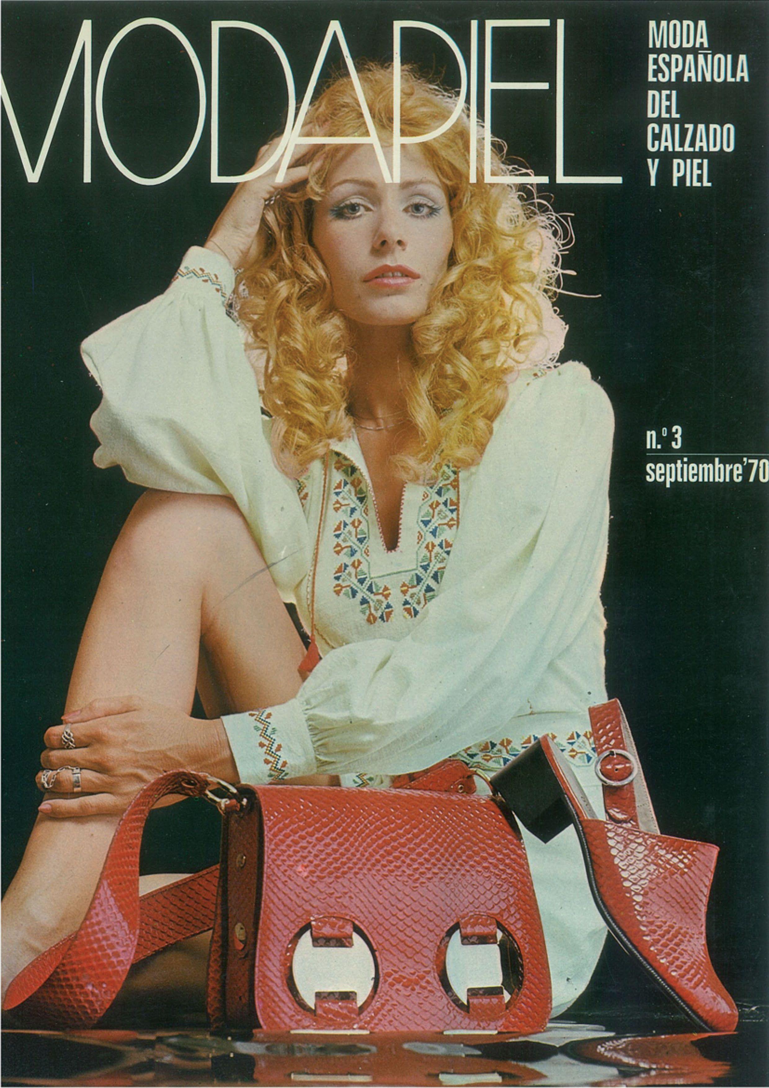 Portada Modapiel #3 1970 www.modapiel.net/ediciones